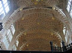 Capilla de Enrique VII en la Abadía de Westminster.