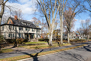 Westmont, Pennsylvania - Luzerne Street in the Westmont Historic District, November 2014