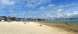 Weymouth beach in July 2011.jpg