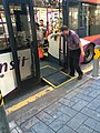 Wheelchair ramp on a bus.jpg
