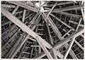 Wiązania dachu od wewnątrz w okrągłej stodole - Mycielin - 001058p.jpg