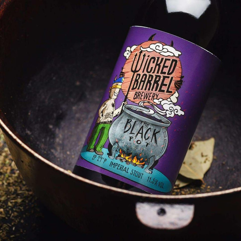 Wicked Barrel & Bereta, The Black Pot