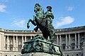 Wien - Heldenplatz, Prinz-Eugen-Denkmal (2).JPG