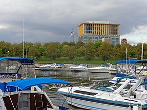 Camden Waterfront - Wiggins Park Marina and One Port Center
