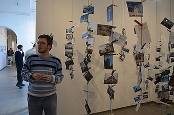 Wiki Loves Monuments Ukraine 2013 Exhibition 188.JPG