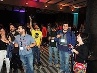 Wikimanía 2015 - Day 2 - Welcome Reception in Salon Don Diego - LMM - México D.F..jpg