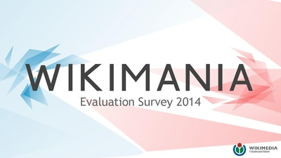 Wikimania 2014 Participant Survey Data Summary (8.26 MB)