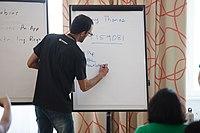 Wikimedia Hackathon Vienna 2017-05-19 Mentoring Program Introduction 012.jpg