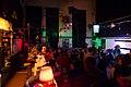 Wikimedia Hackathon Vienna 2017-05-20 Party at Arena 05.jpg
