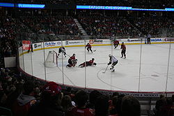 Wild at Calgary Flames on Dec 12, 2006