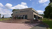 Wildpark Haus Solling Besucherzentrum.JPG