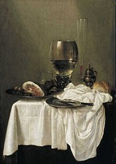 Still life with ham