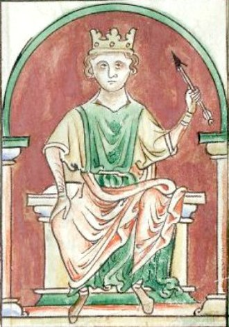 "David I of Scotland - William ""Rufus"", the Red, King of the English, and partial instigator of the Scottish civil war, 1093–1097."