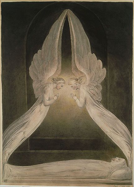 File:William Blake - Christ in the Sepulchre, Guarded by Angels.jpg