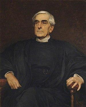 William Hepworth Thompson - Portrait of Thompson by Hubert von Herkomer, 1881