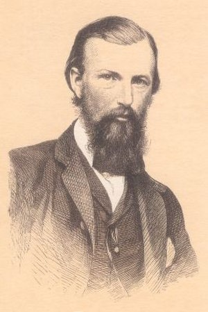 William John Wills - Lithograph of William John Wills