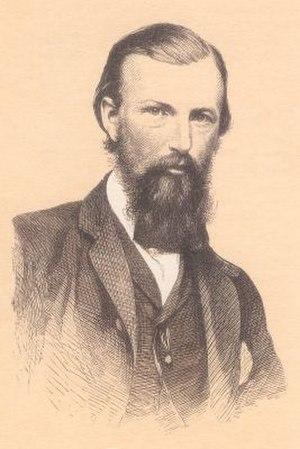 William John Wills - Lithograph of William John Wills