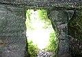 William Murdoch's Cave interior view of door, Bello Mill, Lugar, East Ayrshire, Scotland.jpg