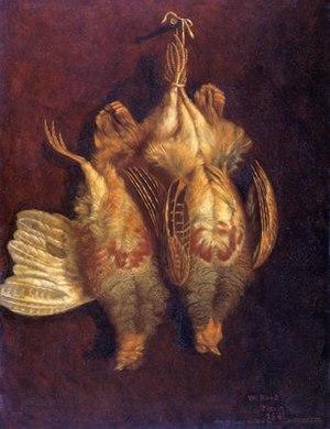 William Roos - Image: William Roos Bywyd Llonydd gyda Phetris (1841)
