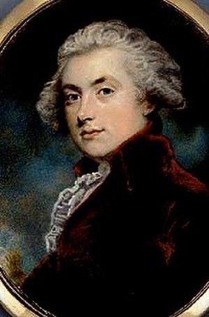 William Robert Spencer - Portrait of William Robert Spencer