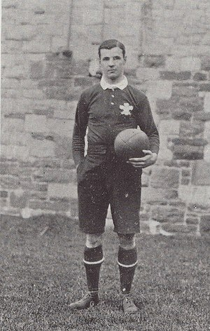 Willie Llewellyn - Llewellyn, taken Jan 1905 while captain against England