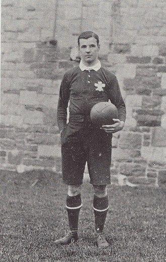 Willie Llewellyn - Llewellyn, taken Jan 1905 while captain against England