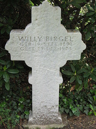 Willy Birgel - Willy Birgel's frave at the Melaten-Friedhof in Cologne