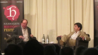 James Naughtie - James Naughtie (l.) and Robert Wilton at Harrogate History Festival