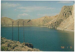 Wind River (Wyoming) - Wind River as part of the Boysen Reservoir near Thermopolis, Wyoming