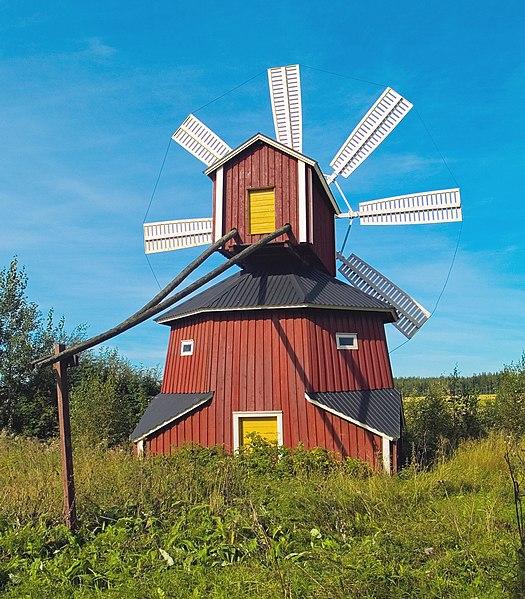 File:Windmill in Luopajarvi Jalasjarvi.jpg