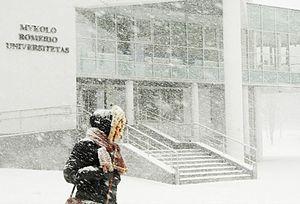 Mykolas Romeris University - Wintertime at MRU