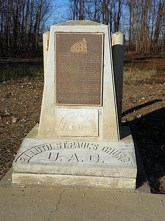 Wittenberg, Missouri - Image: Wittenberg, Missouri, marker