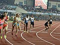 Women's 4x400m Relay Povamma Getting The Baton From Debashree Mazumdar Of India.jpg