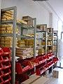 Women's perfumes, Fragonard factory, Eze.JPG