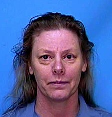 Highway prostitute Aileen Wuornos killed seven men in Florida between 1989 and 1990 Wuornos.jpg