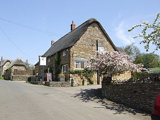 Sibford Gower - Image: Wykham Arms, Sibford Gower geograph.org.uk 168131