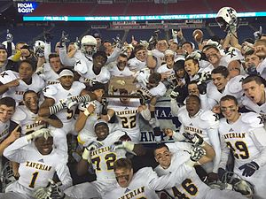 Xaverian Brothers High School - 2015 Super Bowl Champions