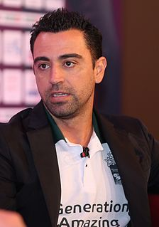 Xavi Spanish professional footballer and manager