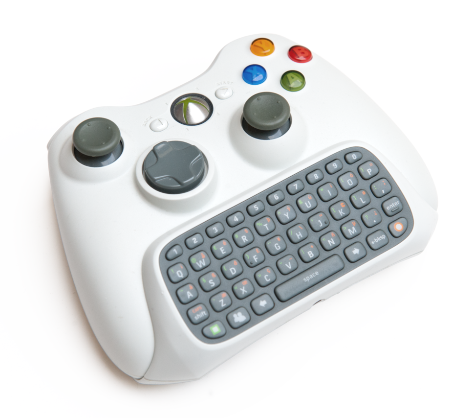 Xbox 360 Chatpad+controller