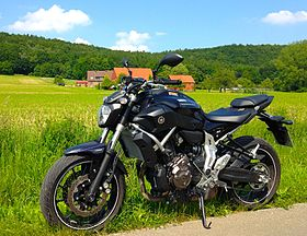 Image illustrative de l'article Yamaha MT-07