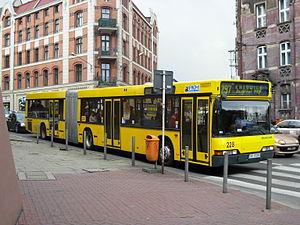 Yellow Bus in Katowice (Neoplan)