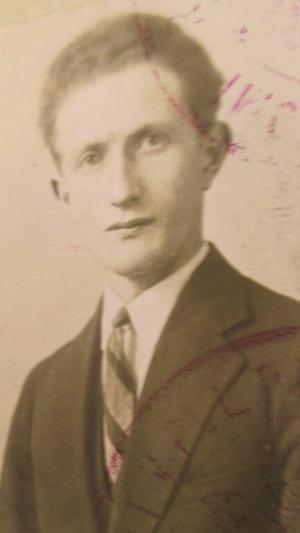 Yisrael Kristal - Yisrael Kristal in Poland, 1931, aged 28