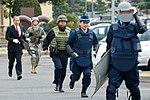 Yokota Airmen train with Japanese police (USAF photo 090327-F-0938O-107).jpg