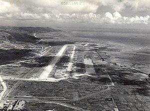 Yonabaru, Okinawa - Aerial view of the former Yonabaru Airfield