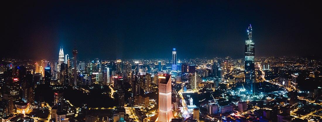 Panorama view of Kuala Lumpur
