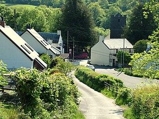 Ystradfellte village in southern Powys, Wales