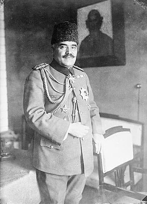 Zeki Pasha - Zeki Pasha, in January 1918.
