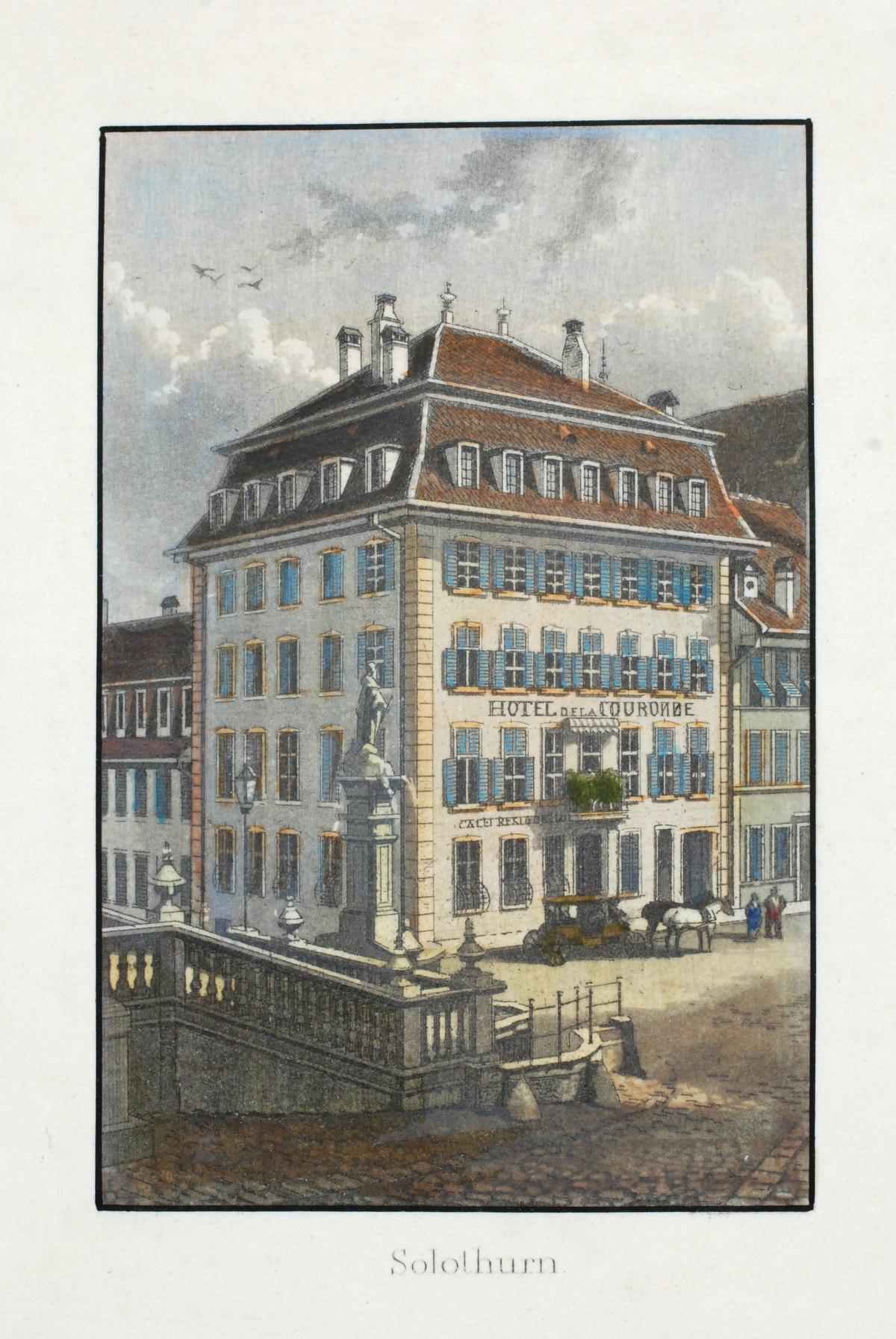 Hotel Krone Solothurn Wikipedia