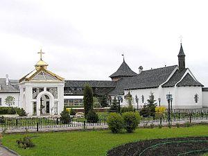 Zymne Monastery - Inside the monastery