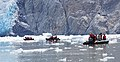 Zodiacs approaching South Sawyer Glacier 425 01.jpg